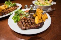 Raccordo dell'occhio della bistecca Immagini Stock
