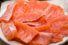 Raccordo di color salmone Immagini Stock