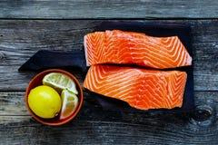 Raccordo di color salmone grezzo Immagine Stock Libera da Diritti