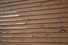 Raccordo di legno esposto all'aria Fotografie Stock