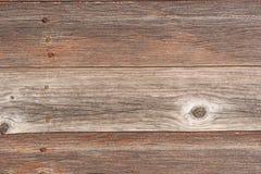 Raccordo di legno esposto all'aria del granaio Fotografie Stock Libere da Diritti