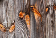 Raccordo di legno stagionato Immagine Stock