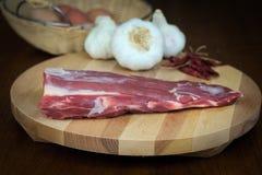 Raccordo organico della carne di maiale Fotografia Stock Libera da Diritti