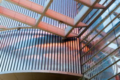 Raccordo, piatti di metallo, finestre a doppi vetri Immagine Stock Libera da Diritti