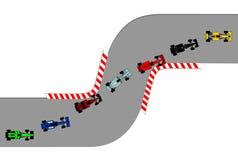 Race stock illustration