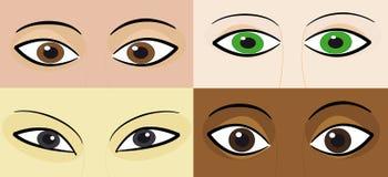 race Vektor Illustrationer