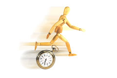 Race Against TIme Royalty Free Stock Image