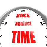 Race against time Stock Image