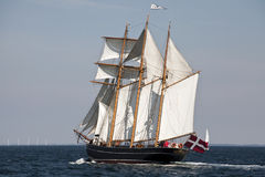 From the race around Funen in Denmark Royalty Free Stock Photo