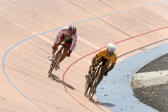 Race During Asian Cycling Championships 2012 Stock Photography