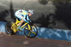 Race During Asian Cycling Championships 2012 Royalty Free Stock Photography