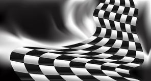 Race background checkered flag vector design Stock Photos