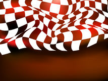 Race background checkered flag wave design. Race background checkered flag wave Stock Images