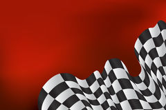 Race background checkered flag wave design. Race background checkered flag wave Royalty Free Stock Photography