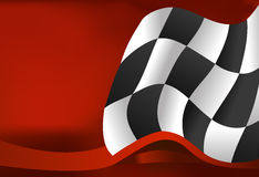 Race background checkered flag wave design. Race background checkered flag wave Royalty Free Stock Images