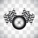 Race background Stock Image
