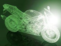 Race bike background. Race concept. 3D render Stock Images