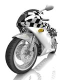 Race bike background. Race concept. Royalty Free Stock Image