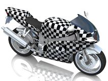 Race bike background. Race concept. Royalty Free Stock Photos