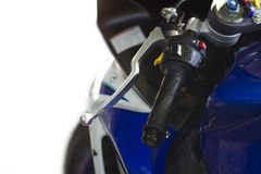 Race bike, motorcicle. Detail of the race bike, car royalty free stock photos