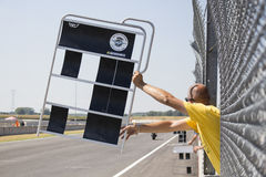 Race board Royalty Free Stock Image