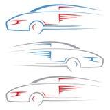 Race car. Vector illustration of race car Stock Image