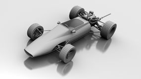 Race Car. Model of a race car from Formula 5000 Royalty Free Stock Photo