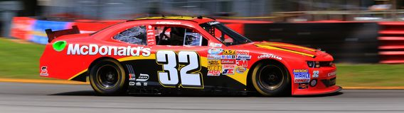 Race car action Stock Photos