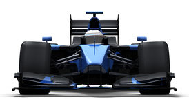Race car - black and blue Stock Photo