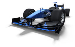 Race car - black and blue Royalty Free Stock Photography