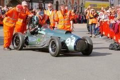 Race car breakdown Royalty Free Stock Image