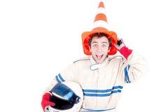 Race car driver Stock Image