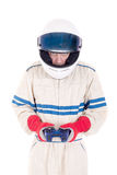 Race car driver Royalty Free Stock Photo