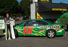 Race car driver, kyle busch's car Stock Photography