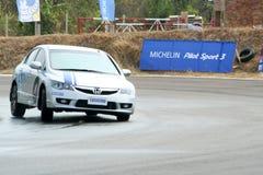 Race car driving. Stock Photos