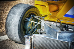 Race car front view. In hdr stock photos