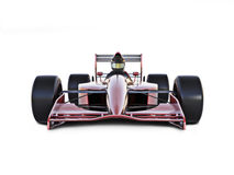 Race car front view Royalty Free Stock Images