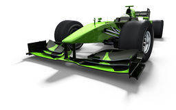 Race car - green and black Royalty Free Stock Photos