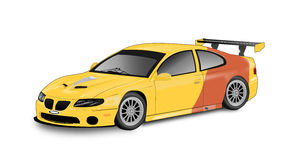 Race car illustration Stock Images