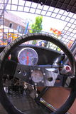 Race car interior Stock Image