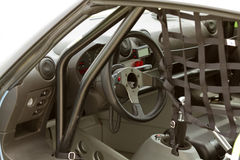Race car interior Royalty Free Stock Image