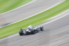 Race car motion blur