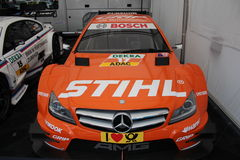 Race car in Oschersleben, Germany Stock Photo