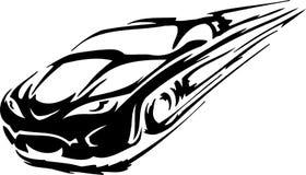 Race car - vector illustration Stock Photography