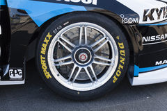 Race car wheel Royalty Free Stock Image