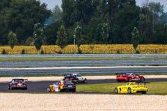 Race cars Stock Photo