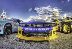 Race Cars Stock Photography