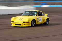 Race cars at Phoenix International Raceway Stock Image