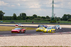 Race cars Royalty Free Stock Image