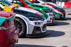 Race cars Royalty Free Stock Photo